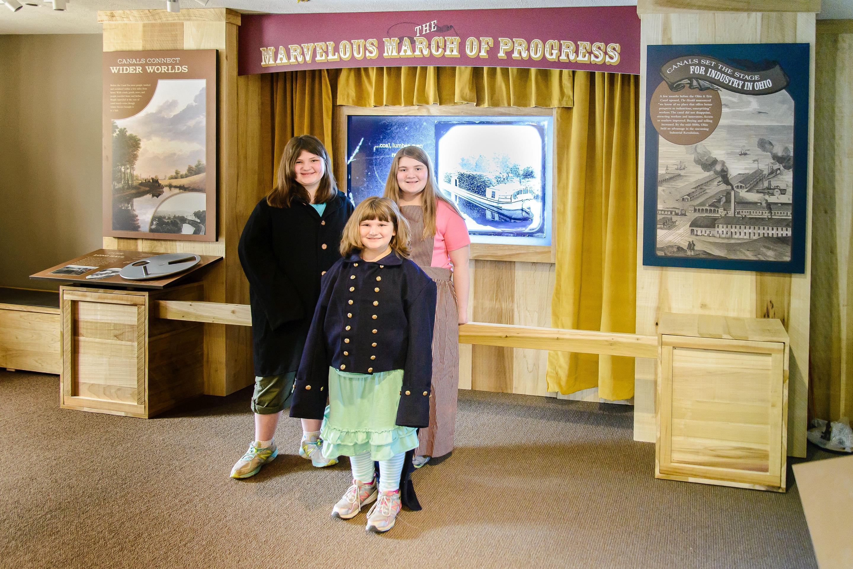 Canal Exploration Center interiorExhibits at the Canal Exploration Center