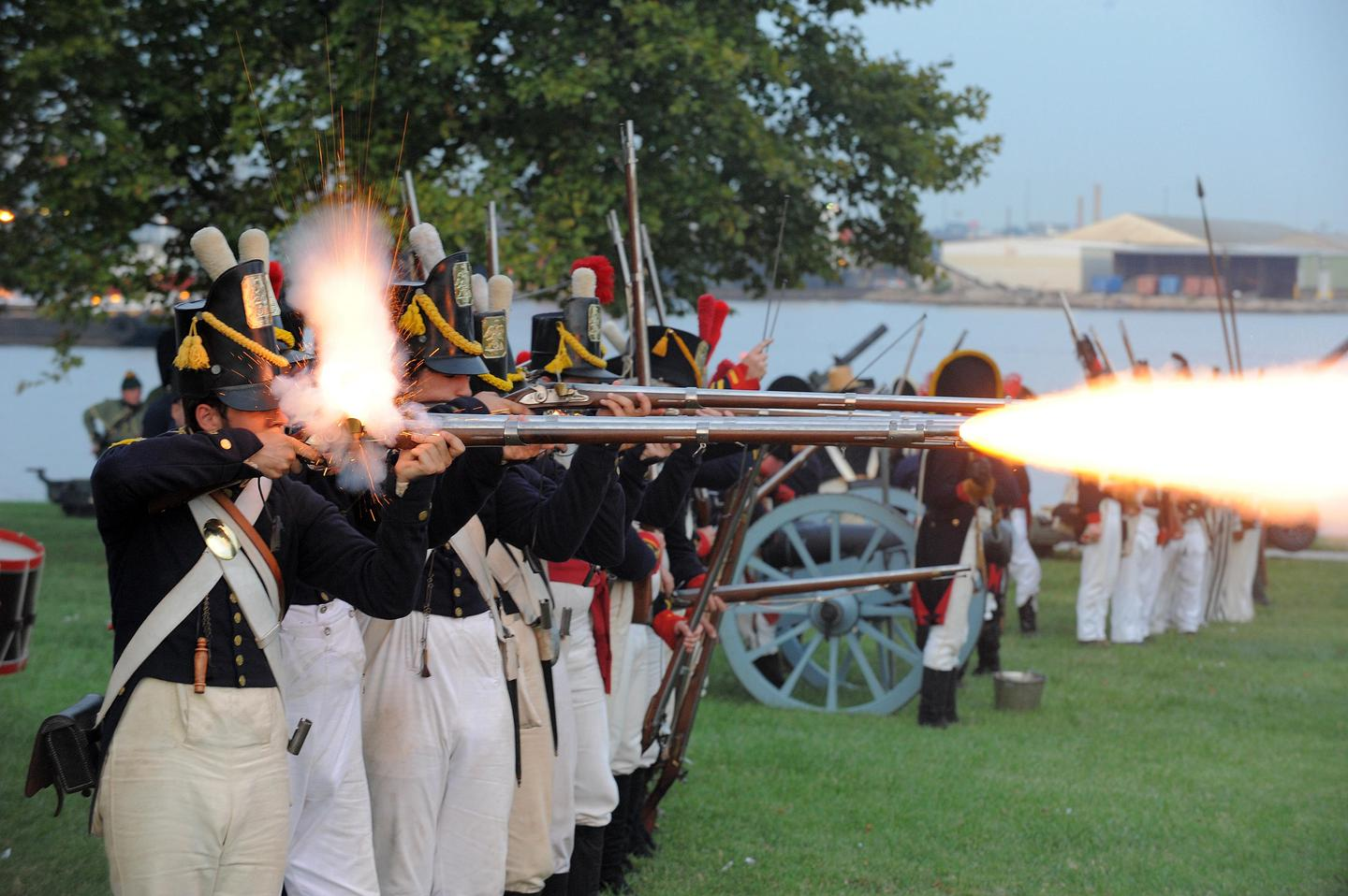 Living History at Fort McHenryLiving history at Fort McHenry National Monument and Historic Shrine.