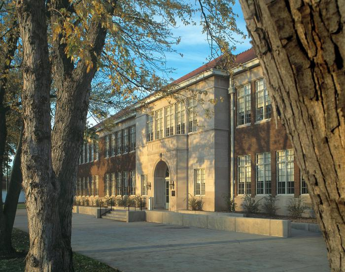 Monroe_School_Entrance_3The Monroe School building serves as the Brown v. Board of Education NHS Visitor Center