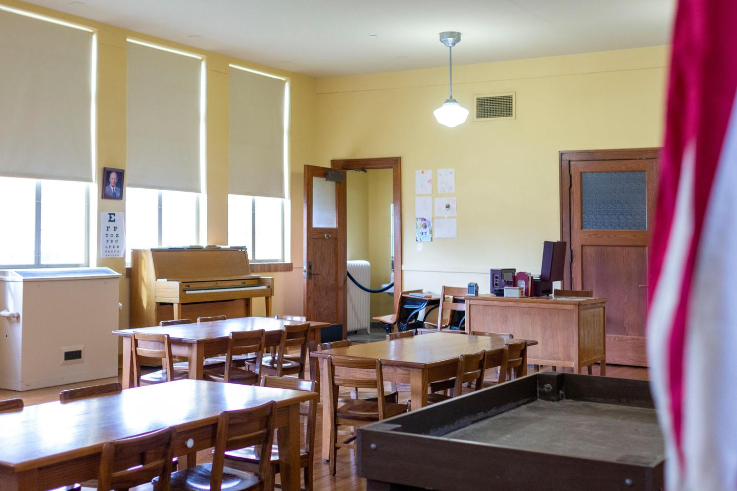 Monroe_School_Kindergarten_RoomThis Kindergarten room was the first school experience for many African American students in Topeka.