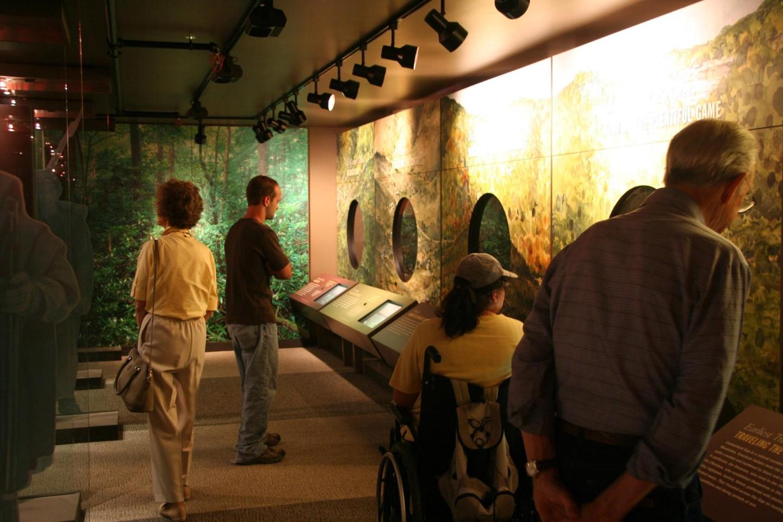 Cumberland Gap NHP MuseumVisitors in the Museum