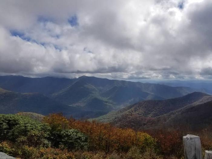 Views from Mount Mitchell.Mount Mitchell, at 6684 feet (the highest point east of the Mississippi River), boasts spectacular views and makes a great day trip from the campground.