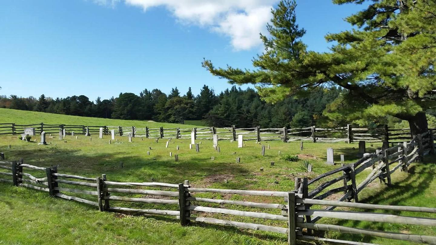 Historic cemetery at Mile Post 245.5.This historic cemetery is located near Mile Post 245.5.  Some of the graves date back into the 1880's.