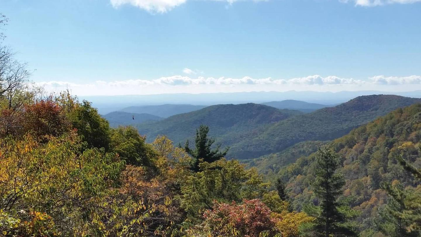 Bluff Mountain offers great hiking and views.Nearby Bluff Mountain offers great hiking and views.