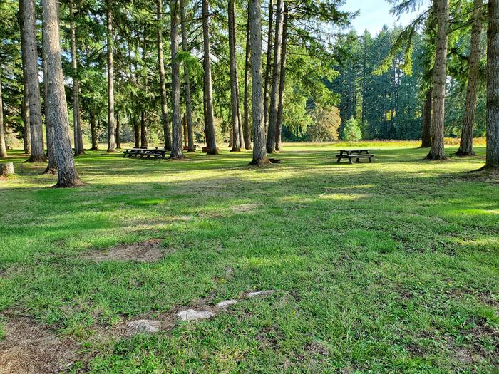 Group site A camping areaGroup Site A
