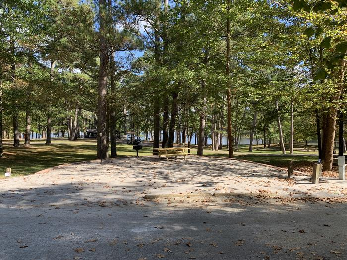 Campsite #18Campsite #18 at Choctaw Lake campground.