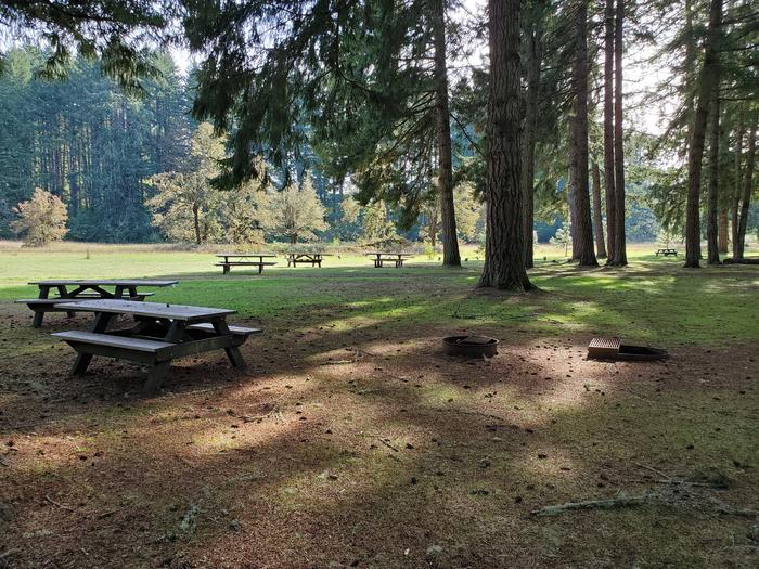 Group Site B picnic tablesGroup Site B