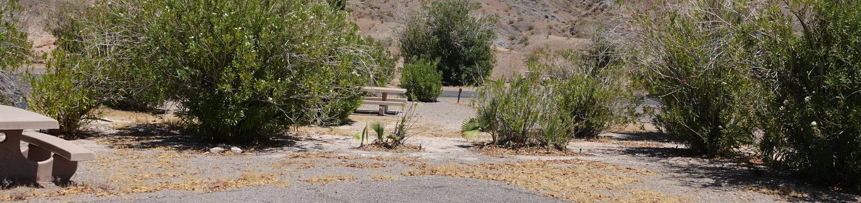 CB Campsite located in a desert setting 1704Callville Bay Campground Site 17