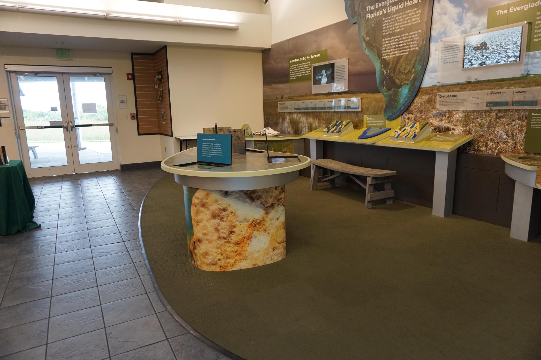 Shark Valley Interpretive ExhibitShark Valley Interpretive Displays and Exhibits