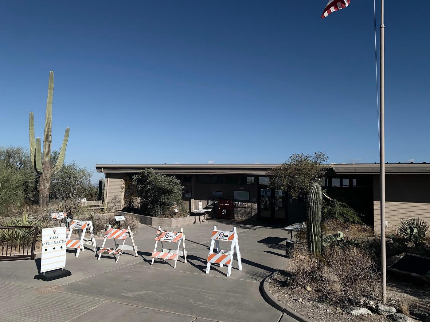 Rincon Mountain District Visitor CenterThe Rincon Mountain Visitor Center is a great place to get water, information and souvenirs