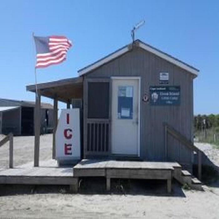Great Island Cabin Office
