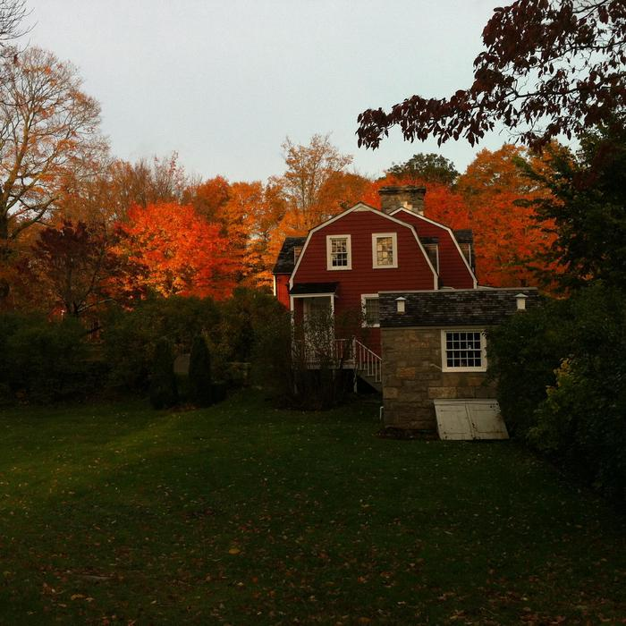 The Burlingham House Visitor Center in FallVisit the Burlingham House Visitor Center.