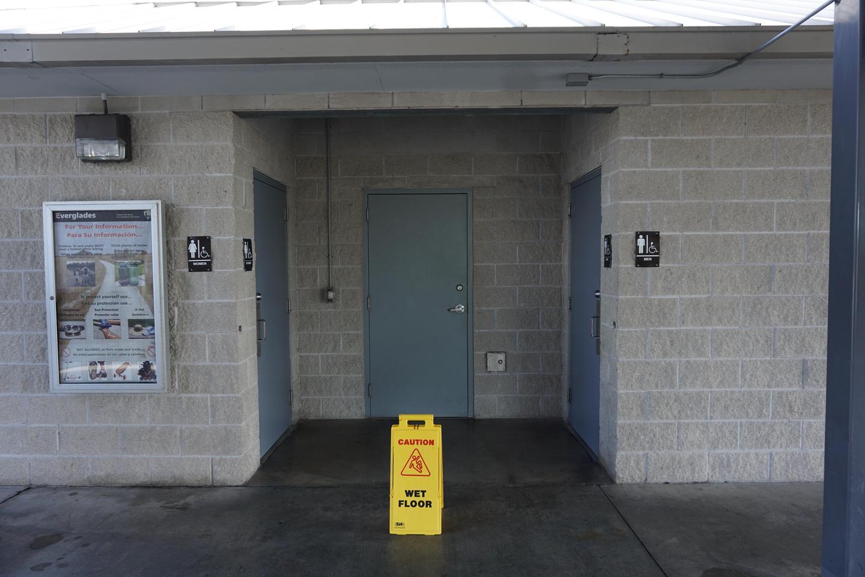 Shark Valley Visitor Center RestroomsRestrooms at the Shark Valley Visitor Center