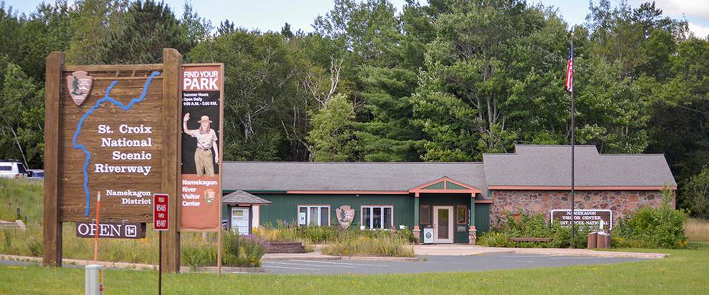 Namekagon River Visitor CenterThe Namekagon River Visitor Center is one of two visitor centers in the St Croix National Scenic Riverway.