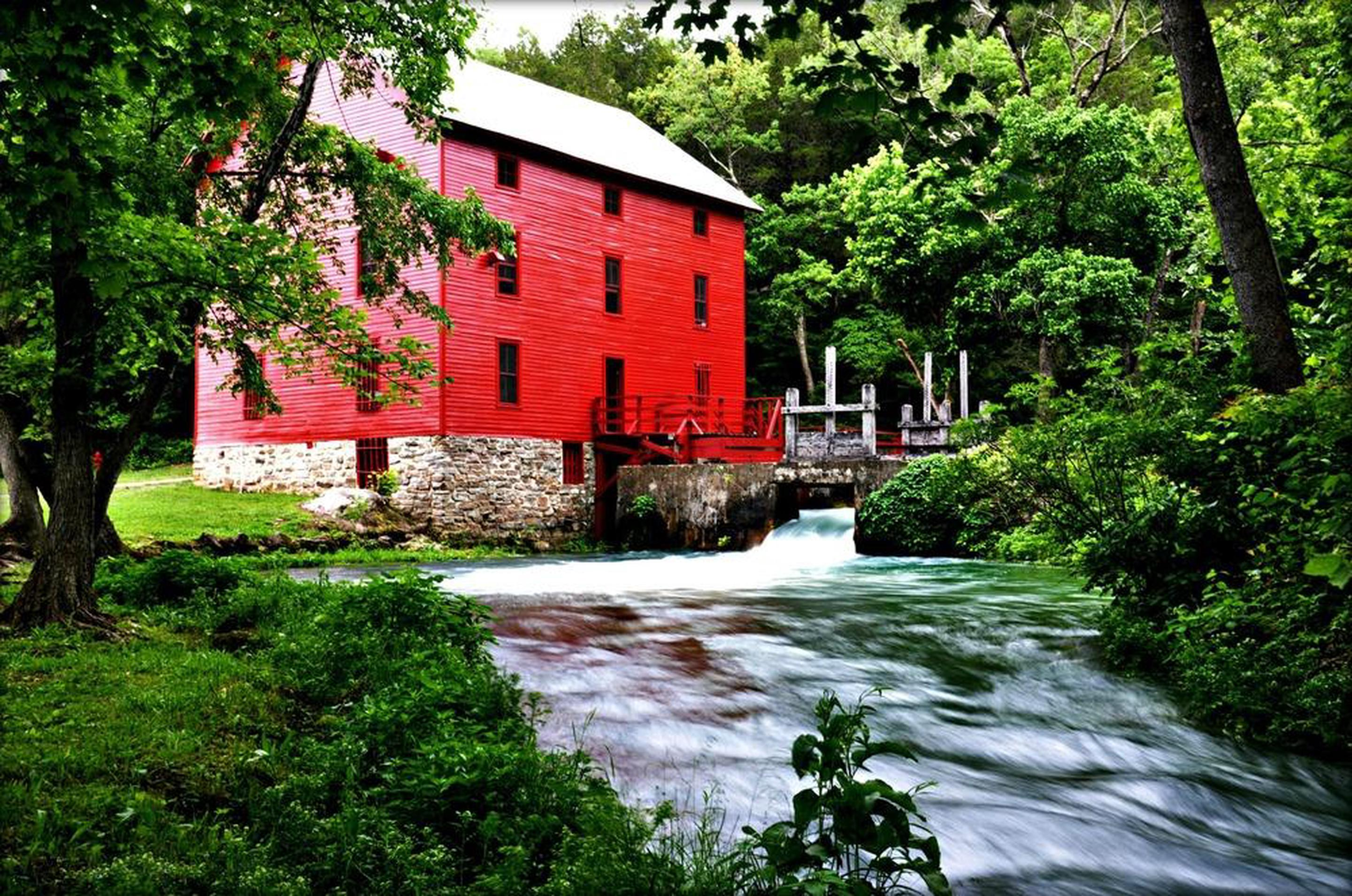 Alley MillThe Historic Alley Roller Mill is open during the summer months for visitation.