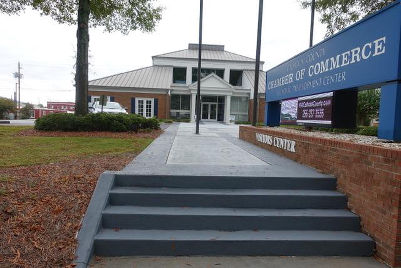 Calhoun County Chambers of CommerceThe Calhoun County Chambers of Commerce is the temporary visitor center for the park