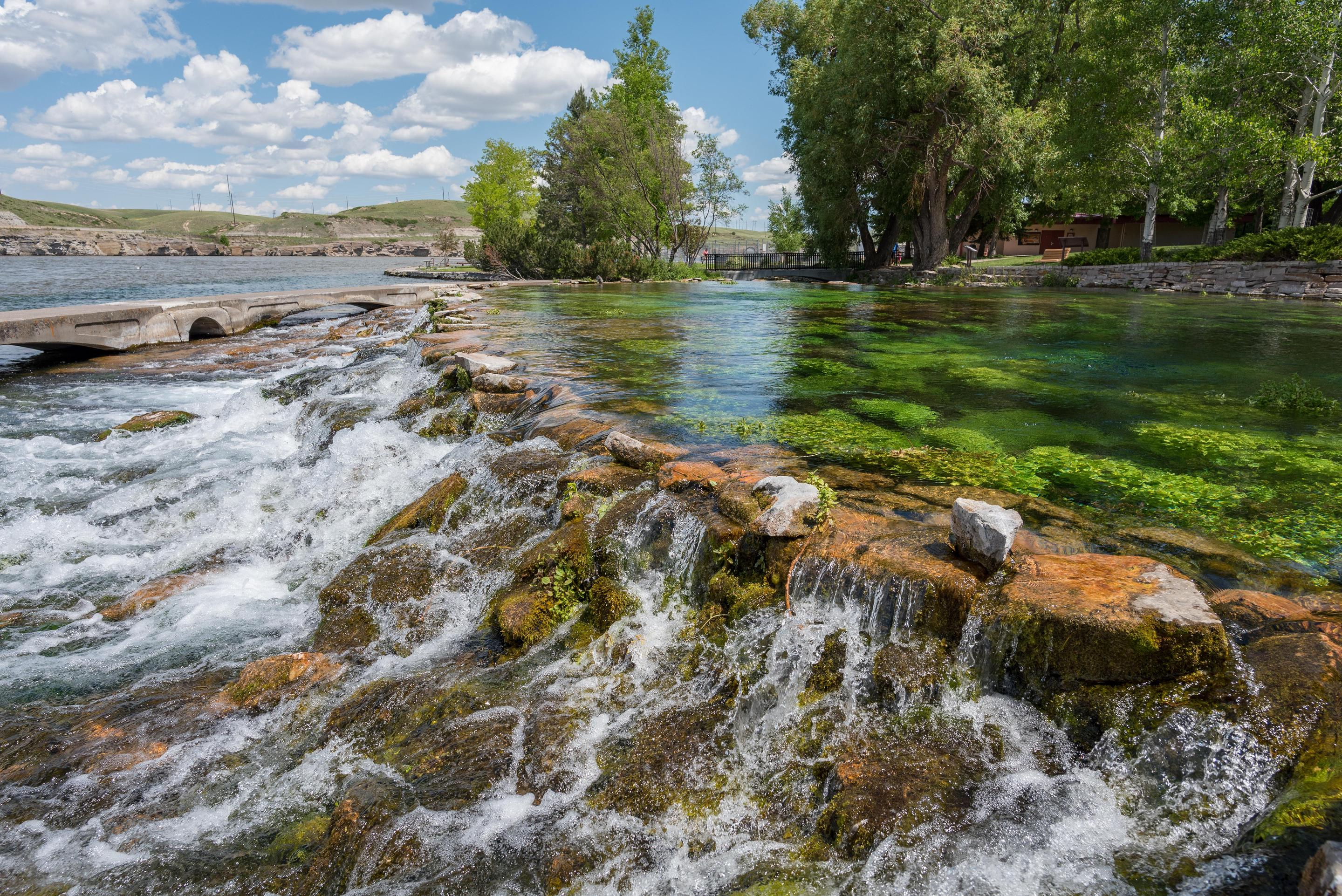 Giant SpringsGiant springs is a site along the Lewis and Clark National Historic Site located in Great Falls, Montana