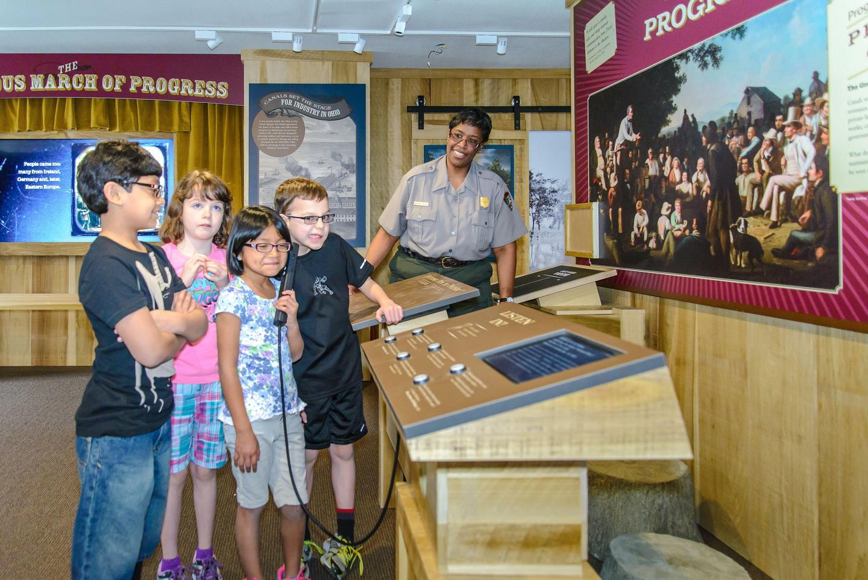 Canal Exploration Center Exhibits