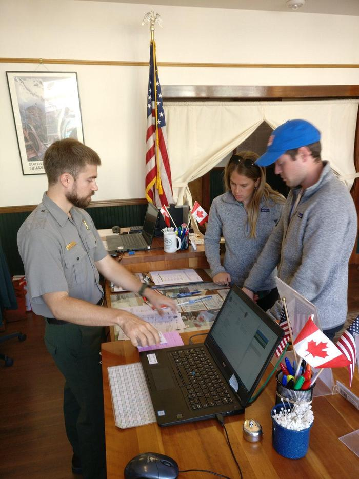 Ranger BriefingBe prepared for your Chilkoot Trail hike with a ranger briefing at the Chilkoot Trail Center