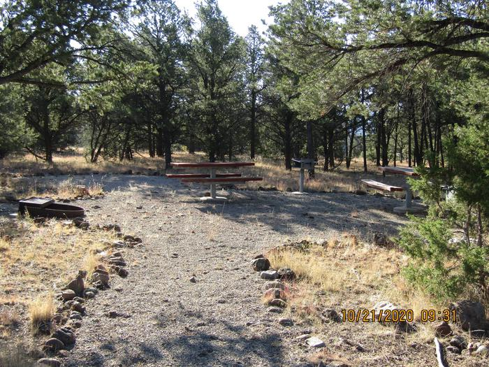 Walkways to picnic areas.Walkways and picnic areas.