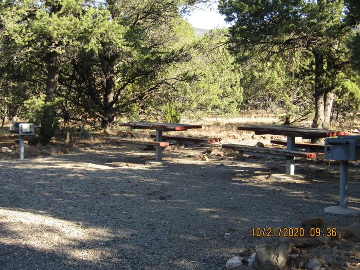Picnic Areas  Picnic table and grilling area.