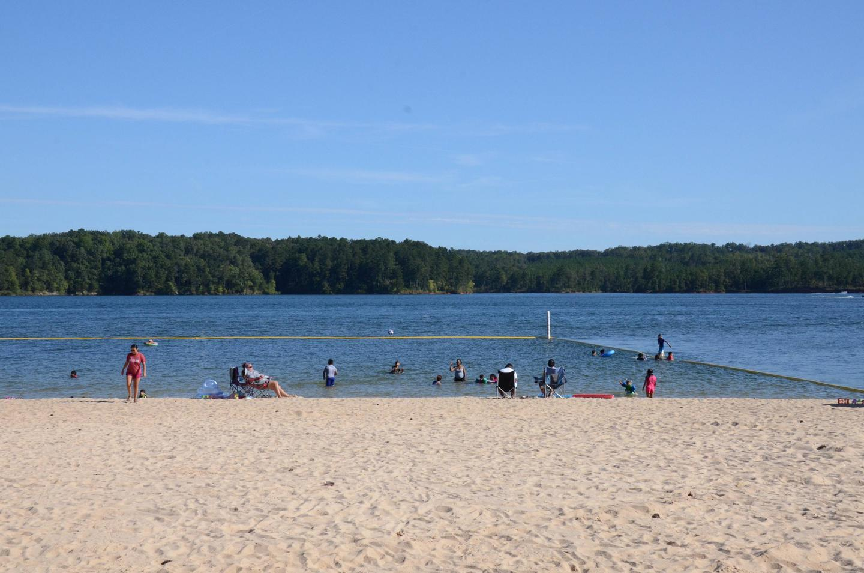 Galt's Ferry Swim Beach.
