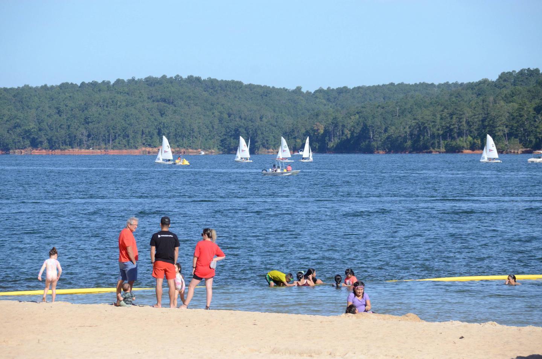 Galt's Ferry Swim Beach..Galt's Ferry Swim Beach