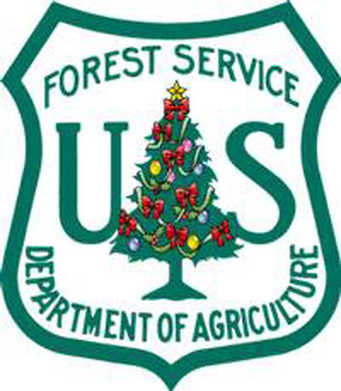 Forest Service Christmas Tree Shield