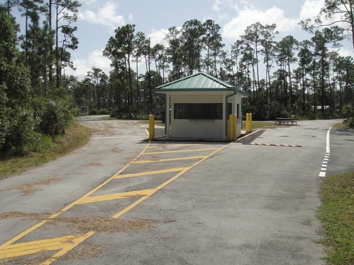 Long Pine Key Camp EntranceThe Long Pine Key Entrance Station is open seasonally