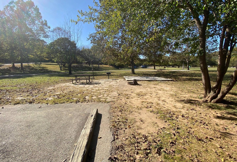 Tyler Bend Main Loop Site# 28-4Site# 28, 70' back-in, tent pad 15' x 15'