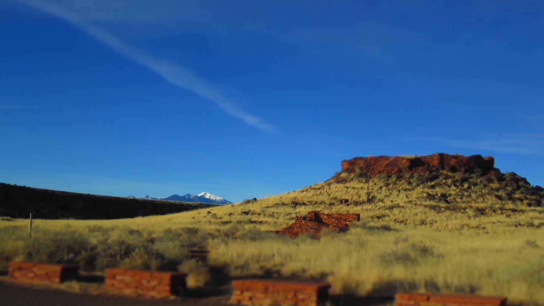 Citadel PuebloThe Citadel Pueblo sits atop a small cinder hill overlooking the surrounding grasslands.