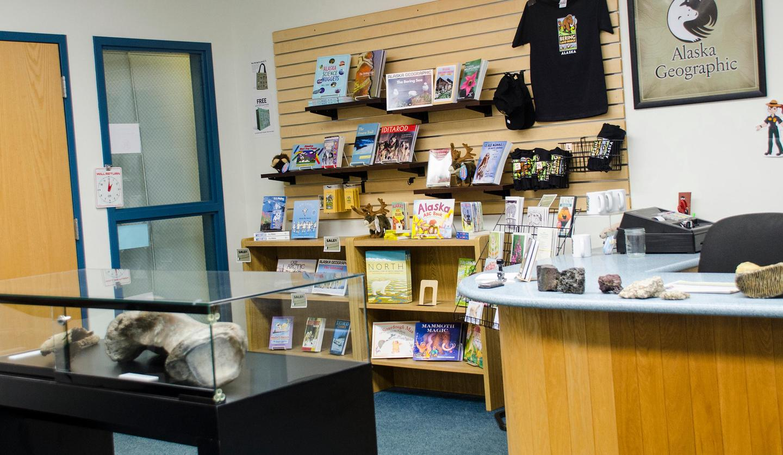 Alaska Geo BookstoreAlaska Geographic Bookstore at the Bering Land Bridge Visitor Center