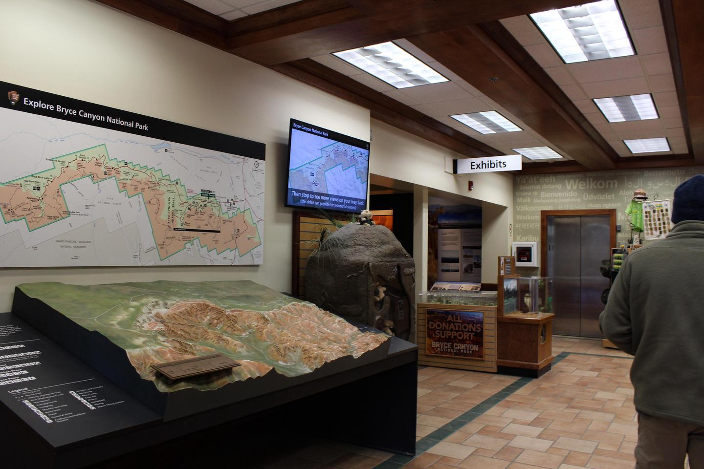 Park OrientationThe Visitor Center provides exhibits, orientation materials, a park film and more.