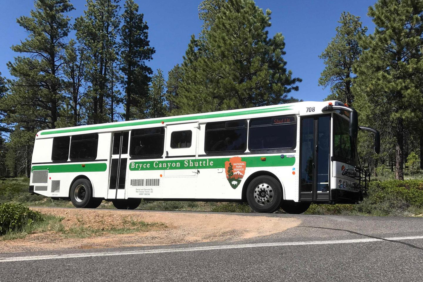 The Bryce Canyon Shuttle provides service from the Visitor CenterFrom April to October, the Bryce Canyon Shuttle provides free service from the Visitor Center to popular park overlooks and facilities.