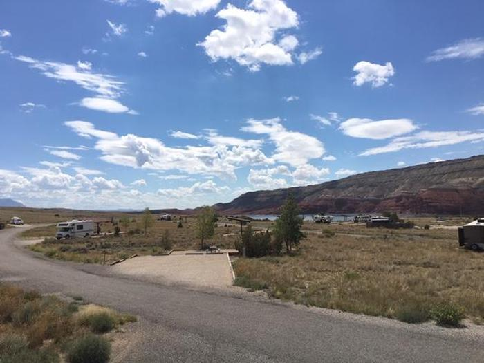Horseshoe Bend Campground from loop B