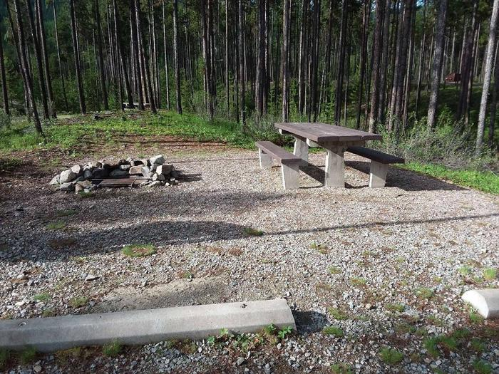 McGregor Lake Site 9-table