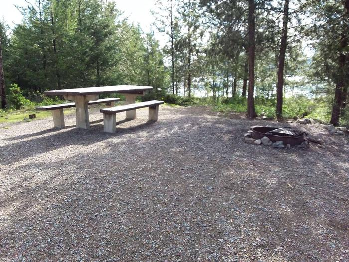 McGregor Lake Site 7-table