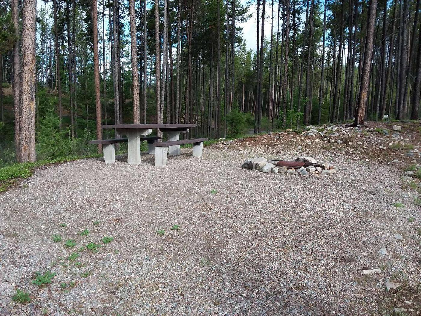 McGregor Lake Site 6-table