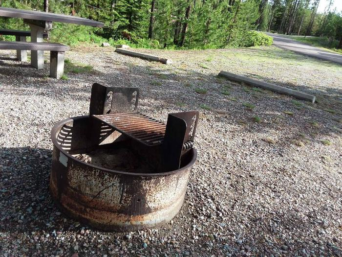 McGregor Lake Site 5-fire ring