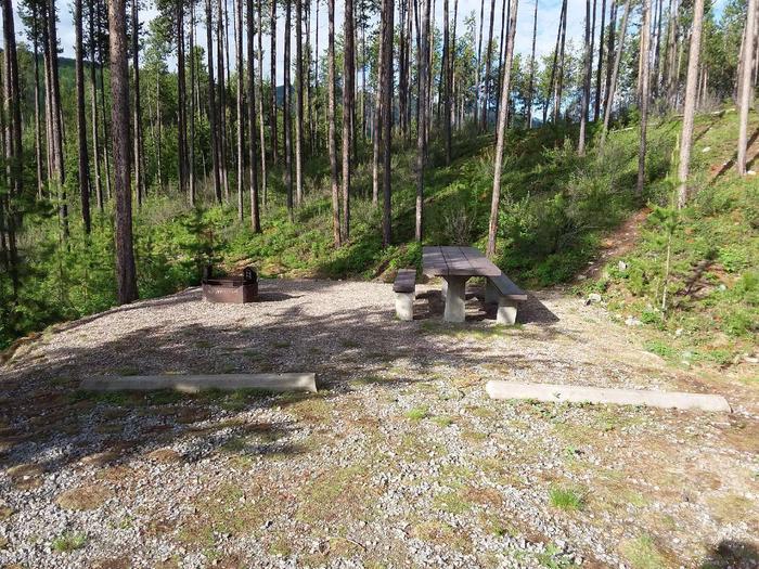 McGregor Lake Site 5-table