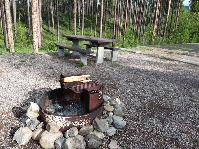 McGregor Lake Site 4-fire ring