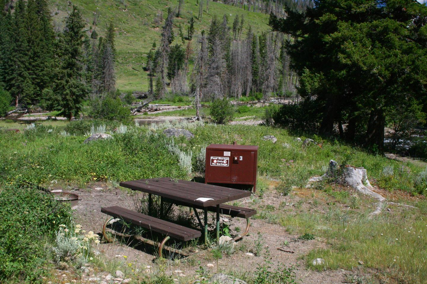 Slough Creek Campground Site #3