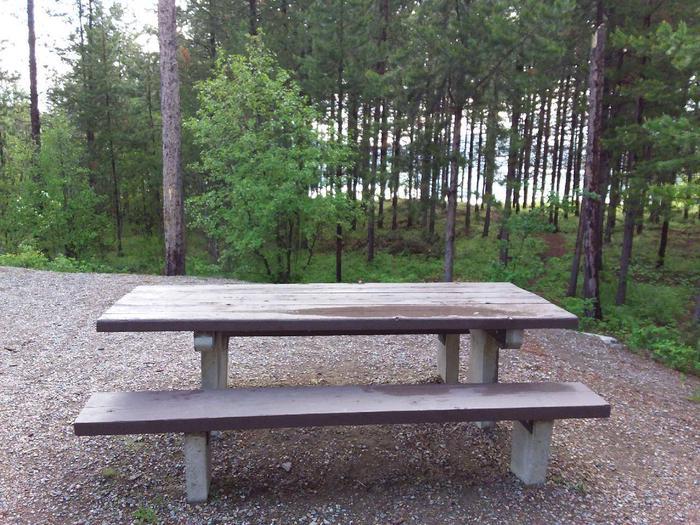 McGregor Lake Site 1-table