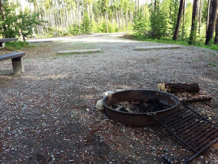 McGregor Lake Site 1-fire ring