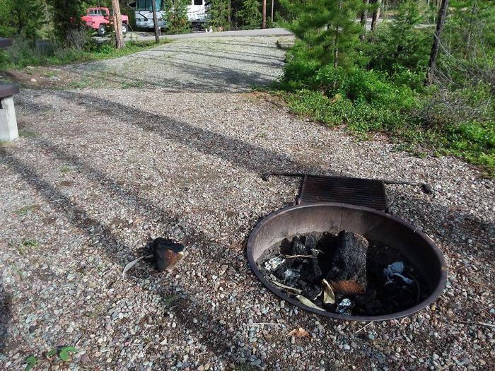 McGregor Lake Site 11-fire ring