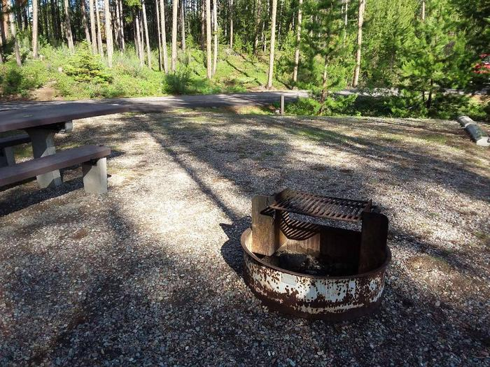 McGregor Lake Site 14-fire ring