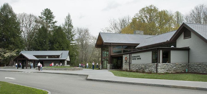 Oconaluftee Visitor CenterOconaluftee Visitor Center near Cherokee, NC