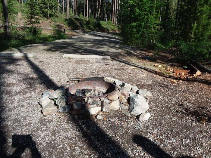 McGregor Lake Site 15-fire ring