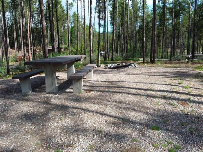 McGregor Lake Site 18-table