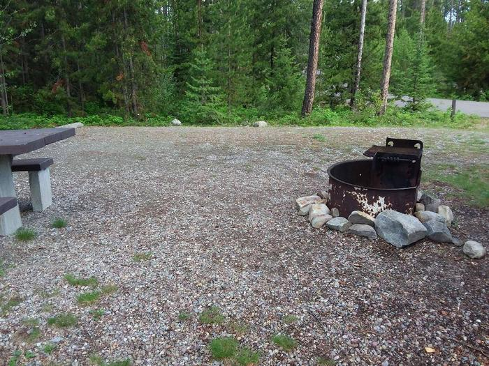 McGregor Lake Site 20-fire ring